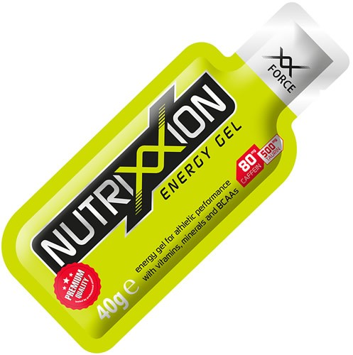 Nutrixxion Energy Gel XX-Force con doble Cafeína 1 gel x 40 gr