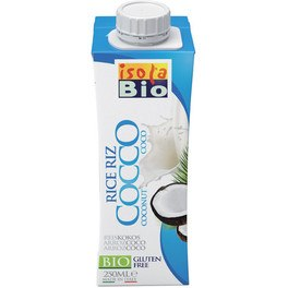 Isolabio Bebida Mini De Arroz Y Coco Bio 250 Ml
