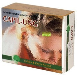 Golden & Green Natural Capil Ung 60 Caps