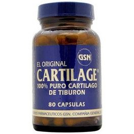 Gsn El Original Cartilage 740 Mg 80 Caps