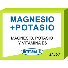 Integralia Magnesio + Potasio + Vitamina B6 60 Caps