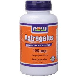 Now Astragalus 500 Mg 100 Caps