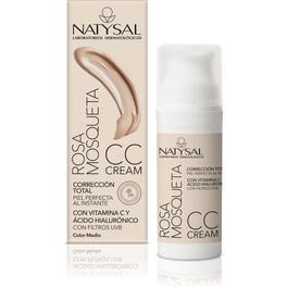 Natysal Cc Cream Rosa Mosqueta Fps 30 50 Ml.tono Medio
