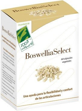 100% Natural Boswelliaselect 60 Vcap