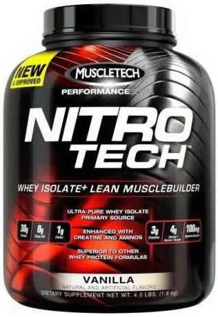 Muscletech Nitro Tech Performance Series 1,8 kg (4 lbs)