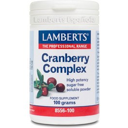 Lamberts Cranberry Complex 100 Gr Polvo
