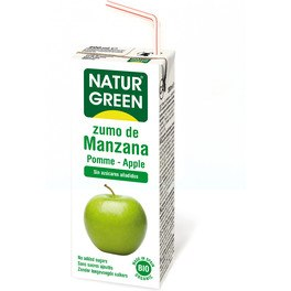 Naturgreen Pack Zumo Manzana 3 X 200 Ml