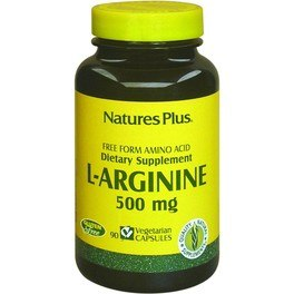 Natures Plus L Arginina 500 Mg 90 Caps