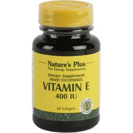 Natures Plus Vitamina E 400 Ui 60 Perlas