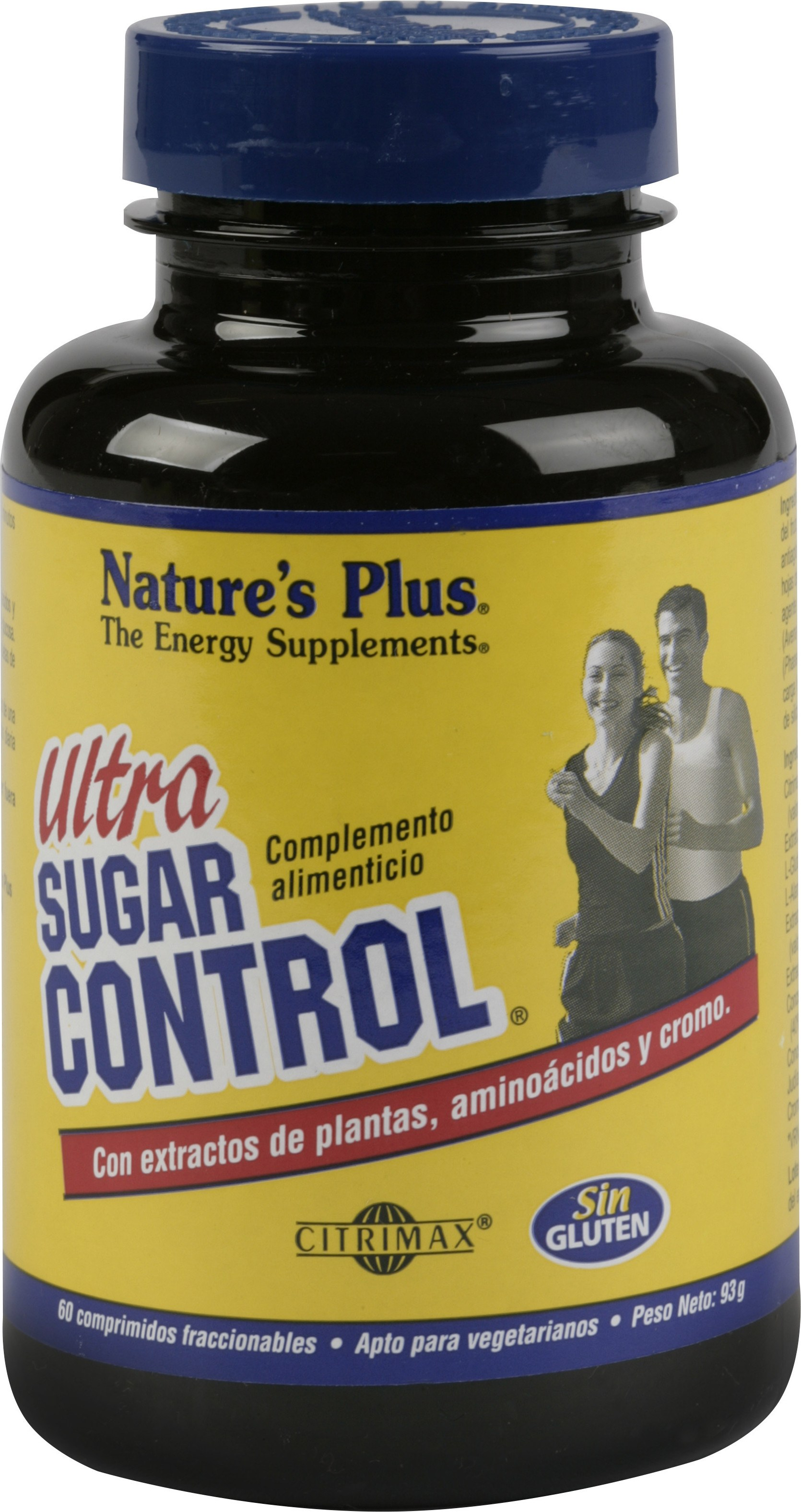 Natures Plus Ultra Sugar Control 60 Comp