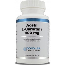Douglas Acetil L-carnitina 500 Mg 60 Caps