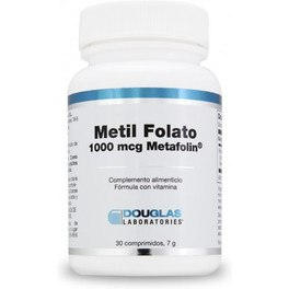 Douglas Metil Folato 1000 Mcg Metafolin 30 Comp