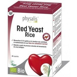 Physalis Red Yeast Rice 45 Cpsulas