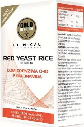 Gold Nutrition Clinical Red Yeast Rice 60 caps