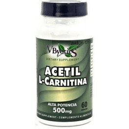 Vbyotic Acetil- L- Carnitina Carnipure 500 Mg 60 Caps