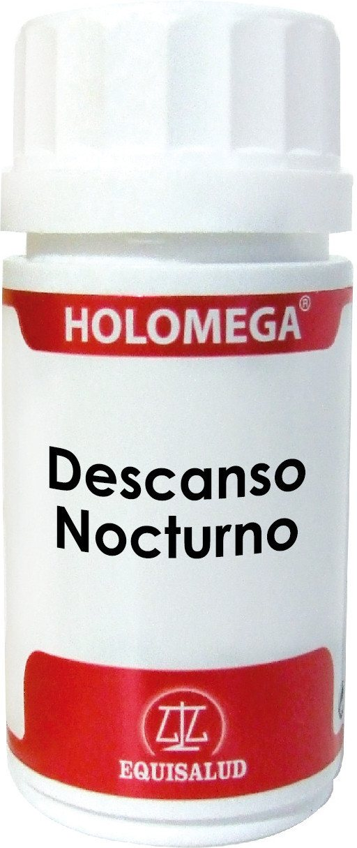 Equisalud Holomega Descanso Nocturno 870 Mg 50 Caps