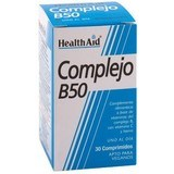 Health Aid Complejo B 50 30 Tabs