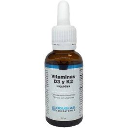 Douglas Vitamina D3 + K2 25 Ml