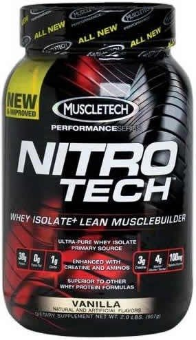 Muscletech Nitro Tech Performance Series 907 gr (2 lbs)