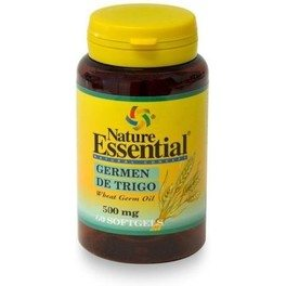 Nature Essential Aceite De Germen De Trigo 500 Mg 60 Perlas