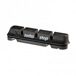 Swissstop Kit 4 Zapatas Flash Negro - Aluminio