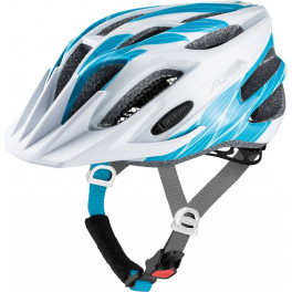 Alpina Casco Fb Junior 2.0 Blanco/azul Peso 230 G