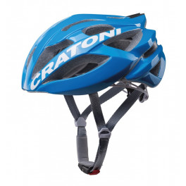 Cratoni Casco C-bolt Road Azul/blanco Brillo