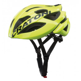 Cratoni Casco C-bolt Road Amarillo Fluo/negro Brillo