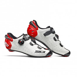 Sidi Zapatillas Wire 2 Carbon Blanco/negro/rojo