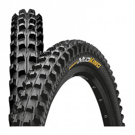 Continental Cubierta Mud King 27.5x1.80 Skin Protection Tubeless Ready Plegable Negro 47-584