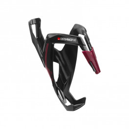 Elite Portabidon Custom Race Plus Negro Brillante/granate