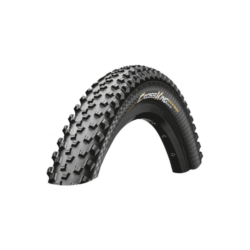 Continental Cubierta Cross King 29x2.60 Skin Shieldwall Tubeless Ready Plegable Negro 65-622