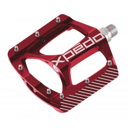 """Xpedo Pedales Zed 9/16""""rojo"""