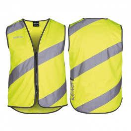 Wowow Chaleco Seguridad Roadie Adulto Con Reflectante Amarillo
