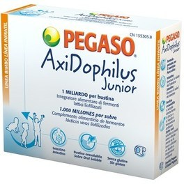 Pegaso Axidophilus Junior 14 Sobres Orosolubles