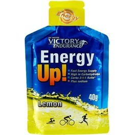 Victory Endurance Energy Up! Sin Cafeina Gel 1 gel x 40 gr
