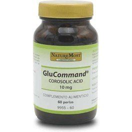 Naturemost Glucommand 10 Mg Corosolic Acid 60 Perlas