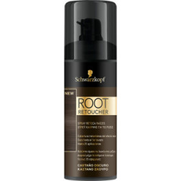 Syoss Root Retoucher Retoca Raices Spray Castaño Oscuro 120 Ml Unisex