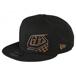 Troy Lee Designs Precision 2.0 Checkers Snapback 2020 Black Youth