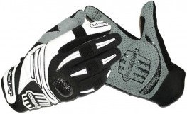 Msc Guantes Mad Dh/freeride/bmx Proteccion Carbono Blanco / Negro