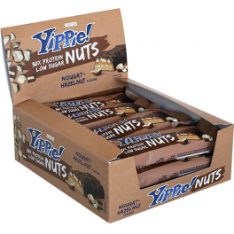 Weider Yippie Nuts Bar 12 barritas x 45 gr