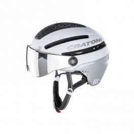 Cratoni Casco Commuter Pedelec Blanco Mate
