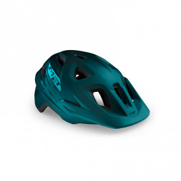 Met Casco Echo Azul Mate