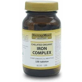 Naturemost Iron Complex 40 Mg 120 Tab