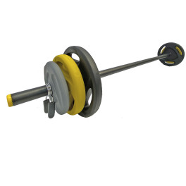 Body Pump Negro/amarillo Ziva