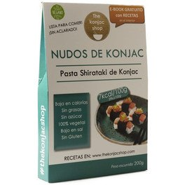 The Konjac Shop Nudos De Konjac 200 G