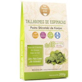 The Konjac Shop Tallarines De Espinacas De Konjac 200 G