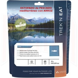 Trek'n Eat Salmon Pesto Con Pasta 160gr