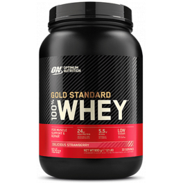 Optimum Nutrition Proteína On 100% Whey Gold Standard 2 Lbs (908 gr)
