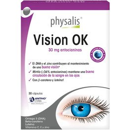 Physalis Vision Ok 30 Cpsulas